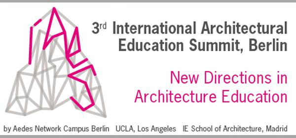 3rd International Architectural Education Summit