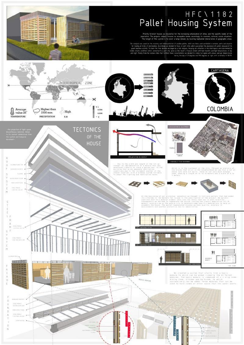Pallet-Housing System