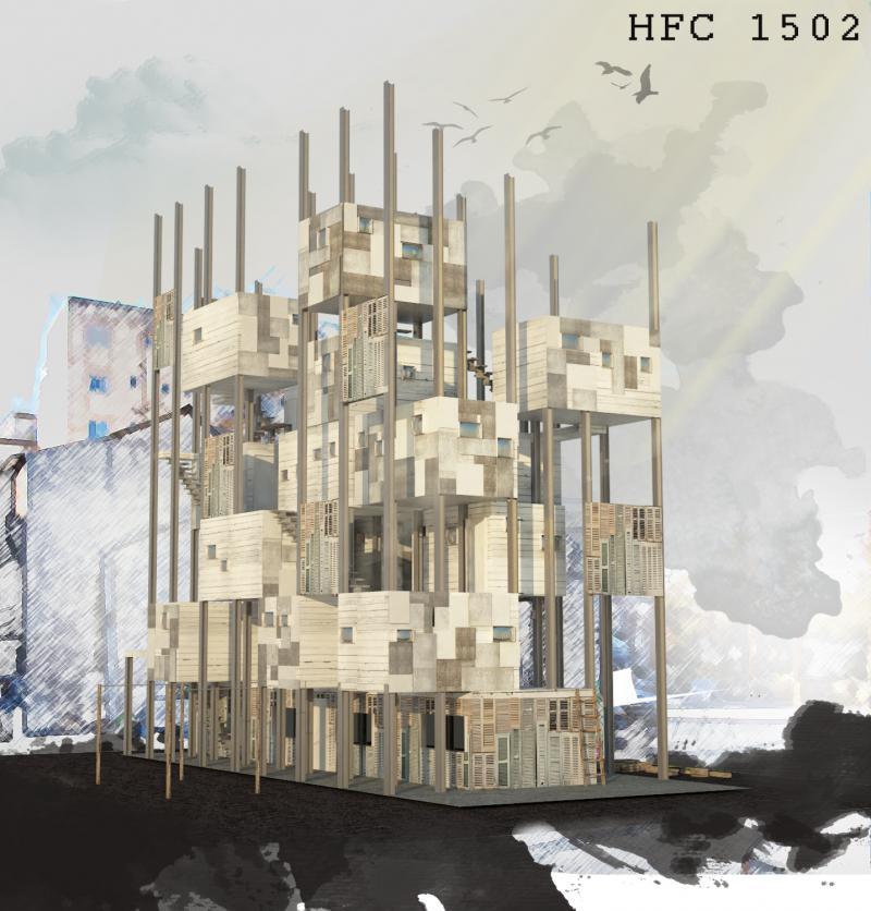 repurposed patchwork HFC1502